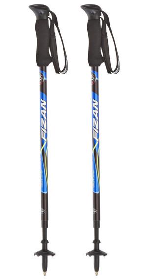 Fizan Compact wandelstok blauw